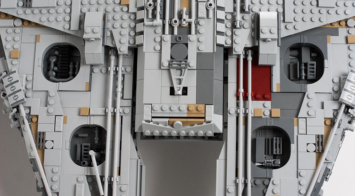 UCS Millennium Falcon Detailansicht