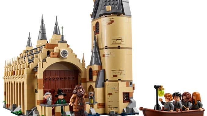 LEGO 75954 Harry Potter Große Halle Details