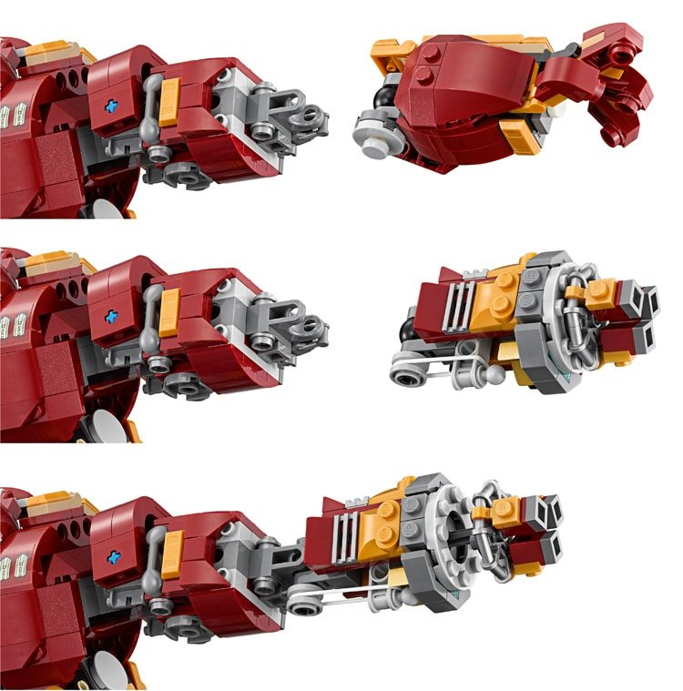 lego hulkbuster ultron edition unboxing