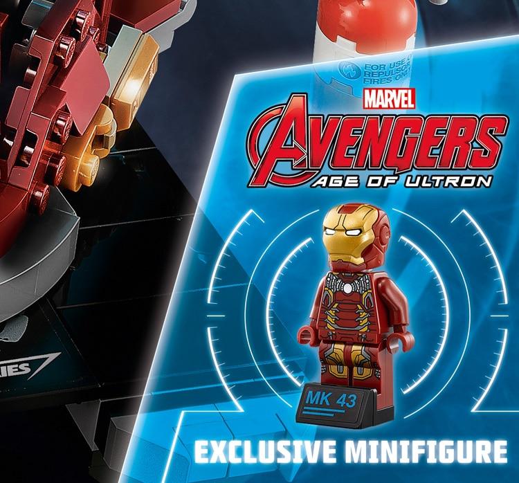 LEGO 76105 Exklusive Iron Man Minifigur