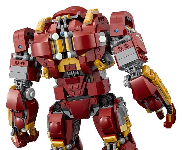 LEGO 76105 Hulkbuster Rückseite