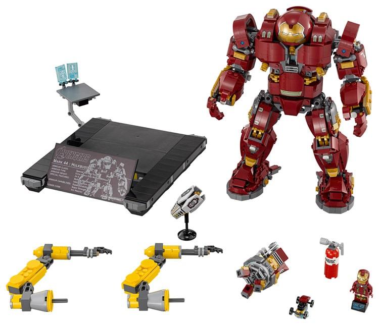 LEGO 76105 Hulkbuster Inhalt