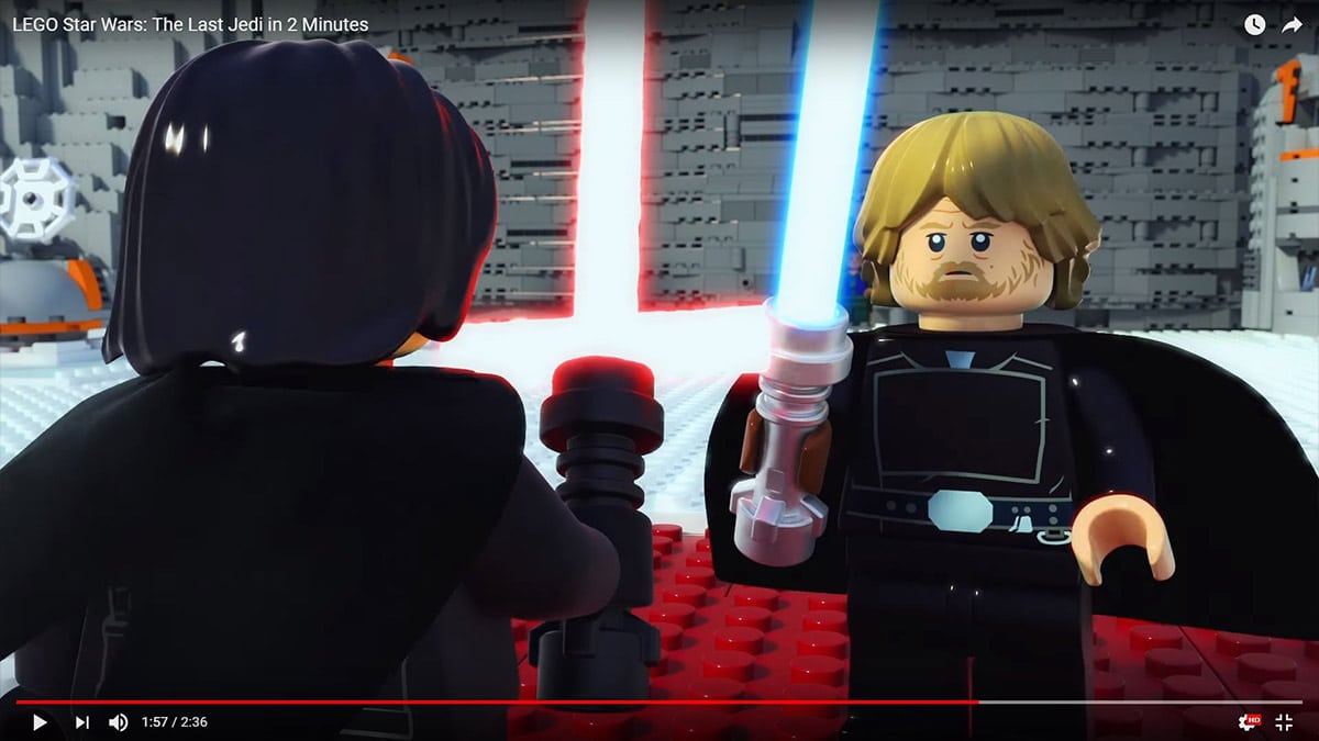LEGO Star Wars gepflegter Luke Skywalker