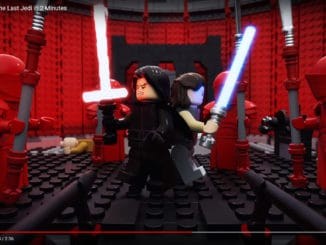 Eine Szene aus dem LEGO Star Wars Episode VIII Kurzfilm