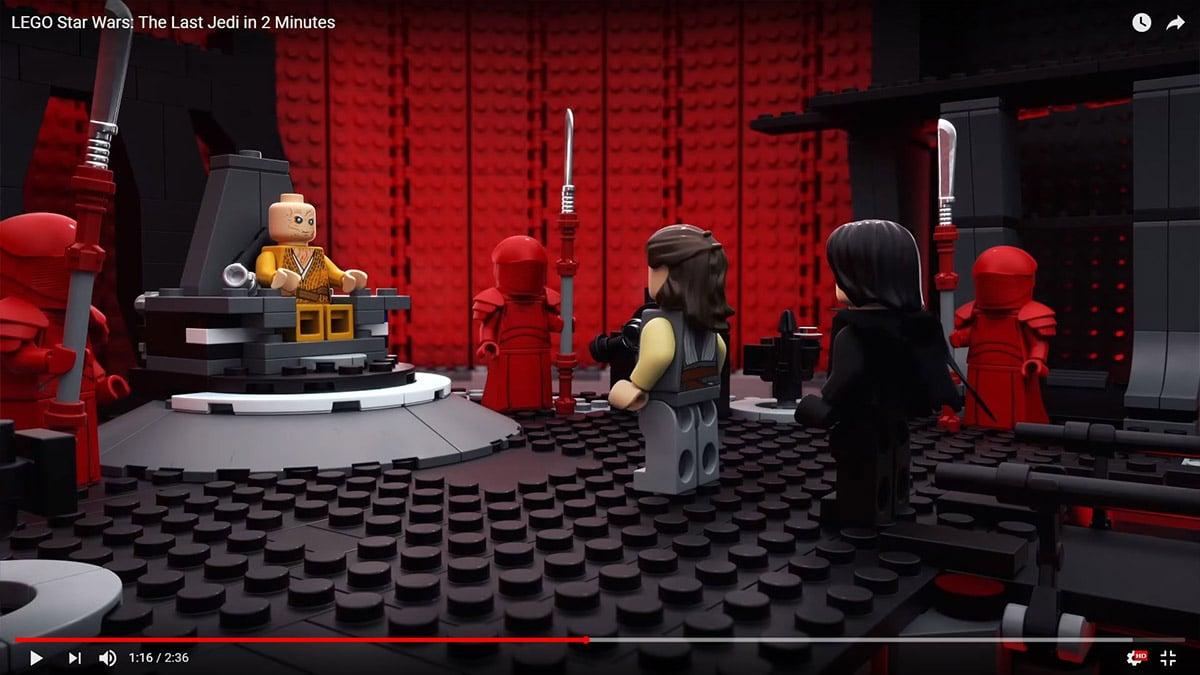 LEGO Snoke's Throne Room
