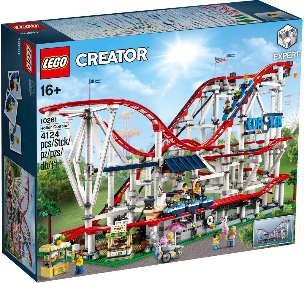 Lego 10261 Rollercoaster Alle Details Zur Lego Achterbahn