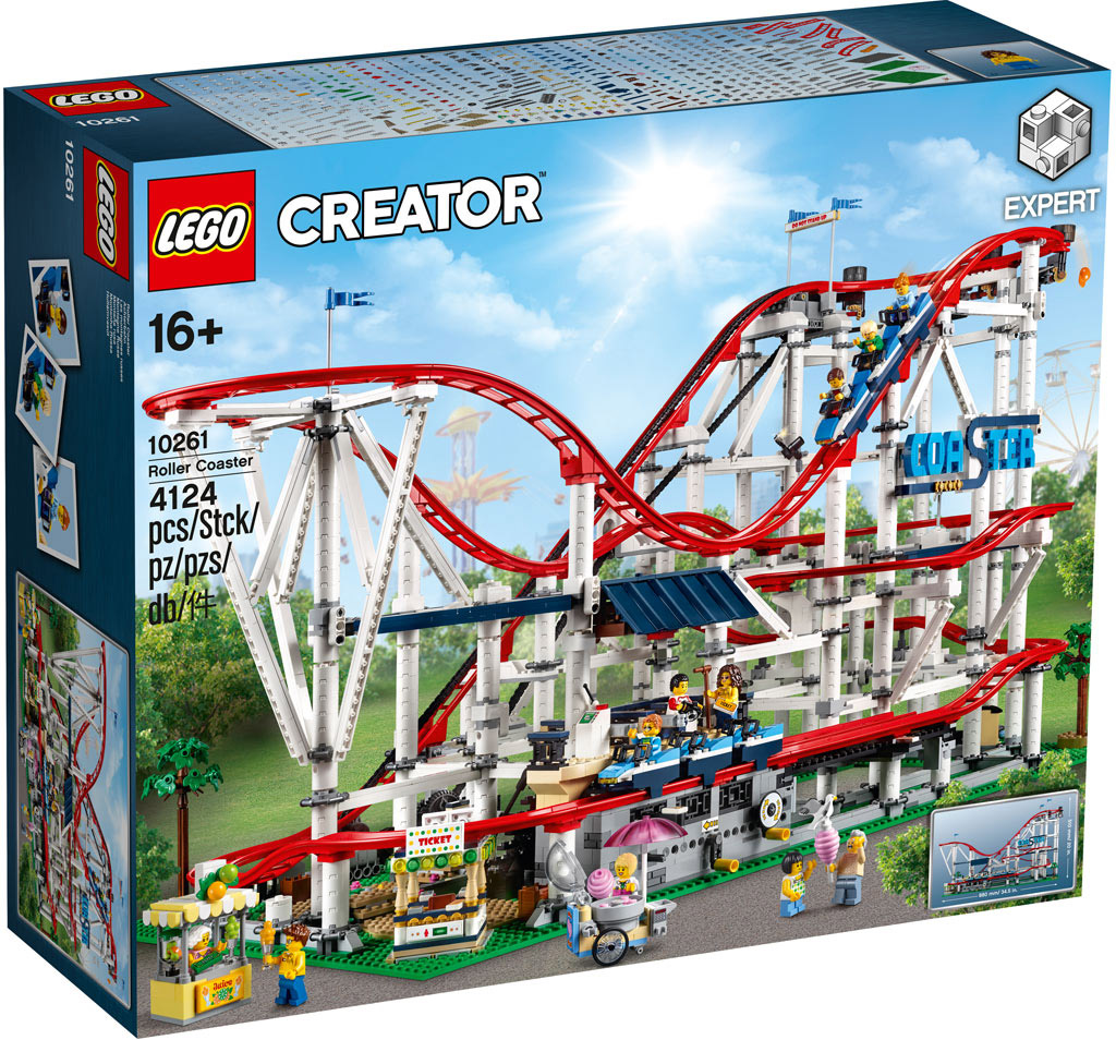 LEGO 10261 Roller Coaster Achterbahn Box