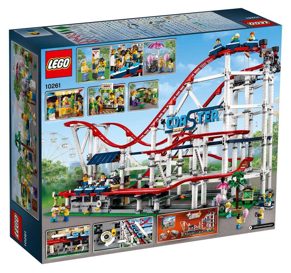 LEGO 10261 Roller Coaster Achterbahn Verpackung