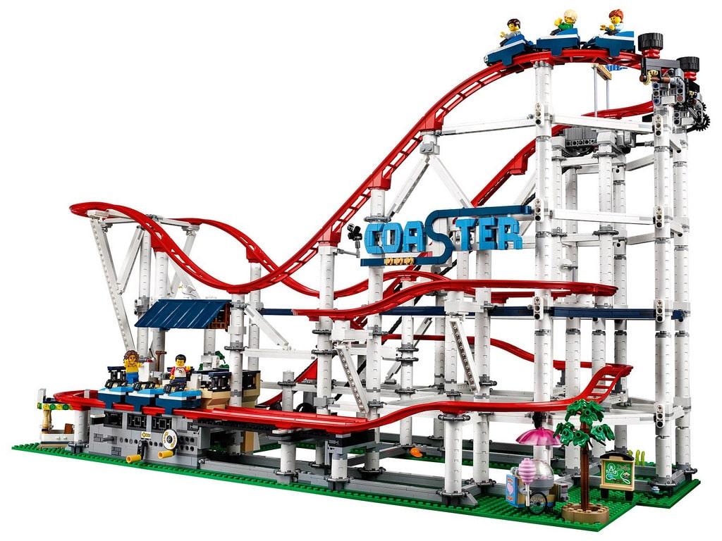LEGO 10261 Roller Coaster Achterbahn