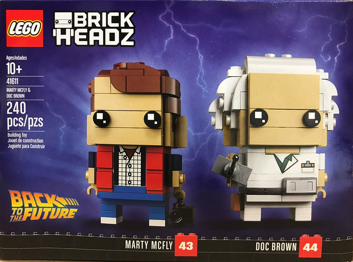 Lego 41611 Back To The Future Brickheadz Ab Jetzt Erh 228 Ltlich