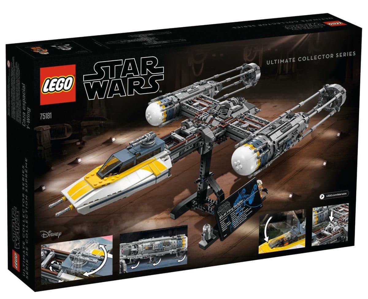LEGO 75181 Karton Rückseite