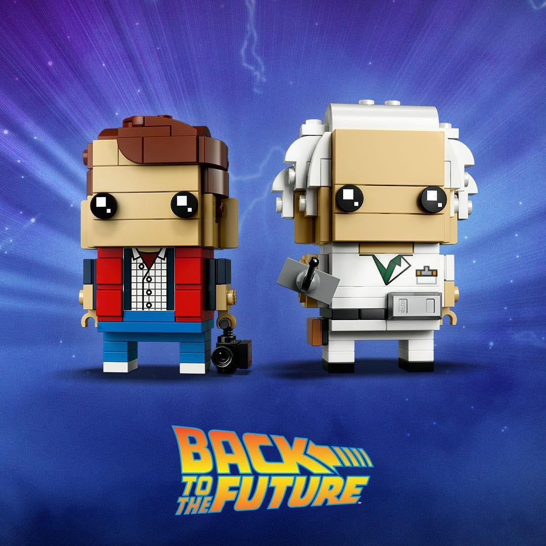 LEGO Back To The Future BrickHeadz