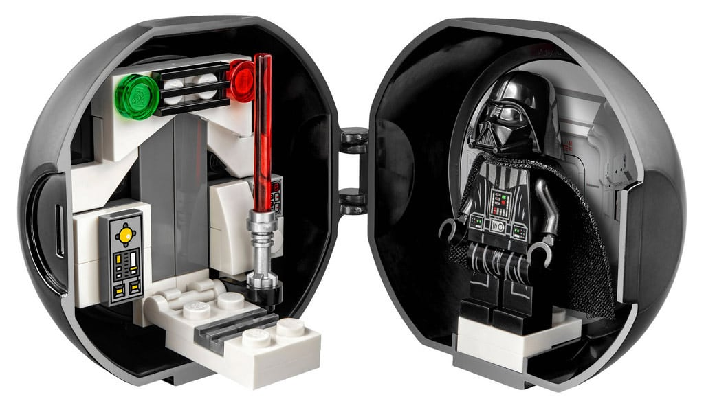 LEGO Darth Vader Pod von innen