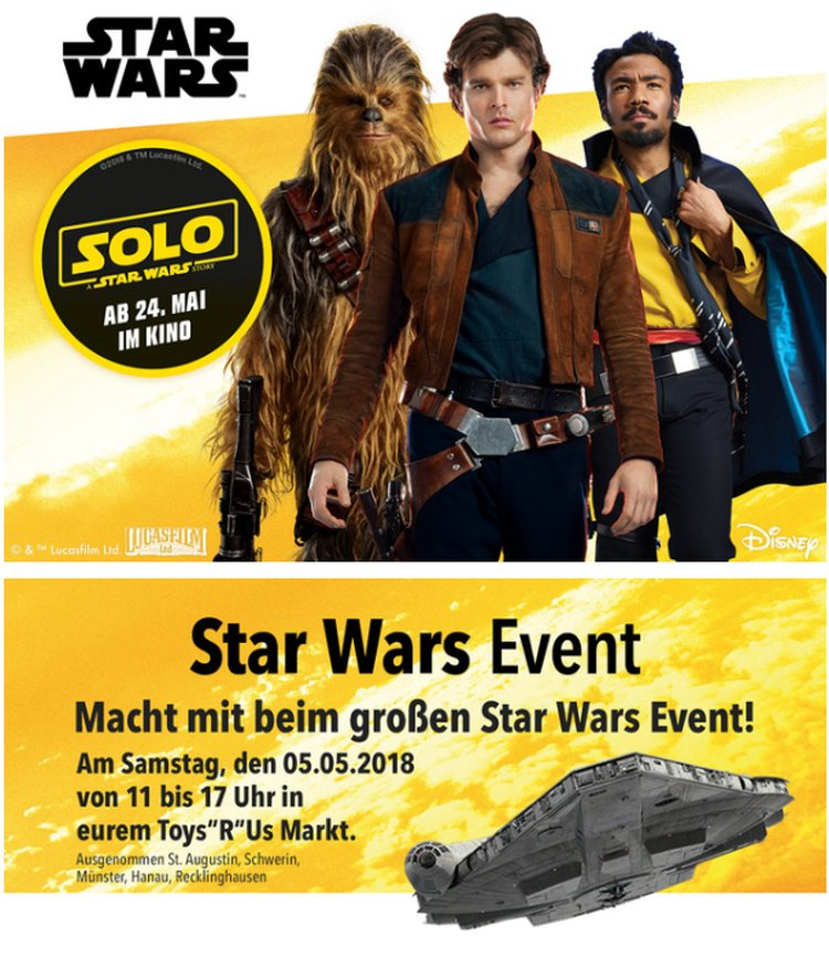 "LEGO May The 4th 2018 Event bei Toys""R""Us"