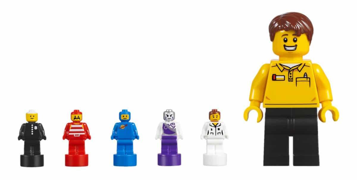 LEGO Minifiguren Fabrik Microfiguren