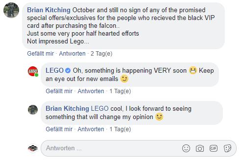 LEGO Schwarze VIP Karte: Neue Aktion angekündigt?