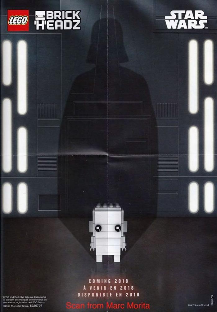 Darth Vader BrickHeadz Poster