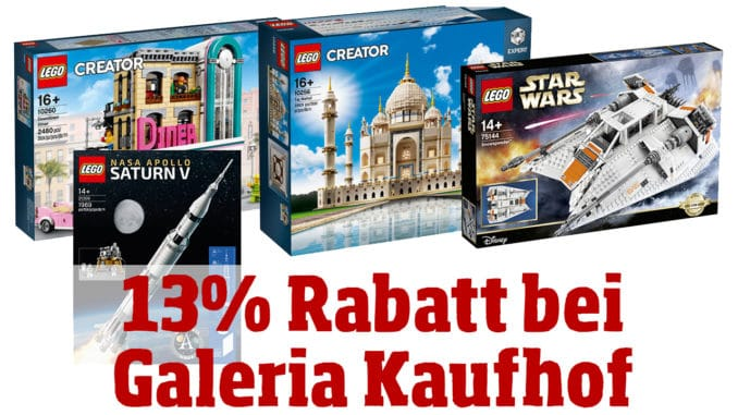 galeria kaufhof angebot mindestens 13 rabatt auf alles. Black Bedroom Furniture Sets. Home Design Ideas