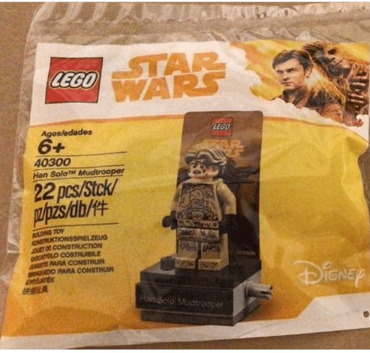 Han Solo Mudtrooper Polybag 40300
