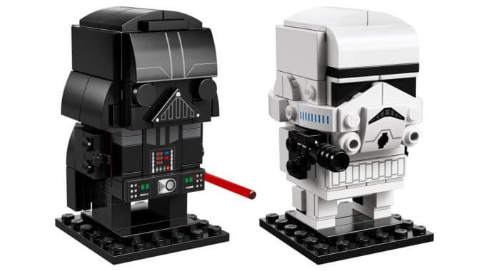 LEGO Star Wars BrickHeadz 41619 und 41620