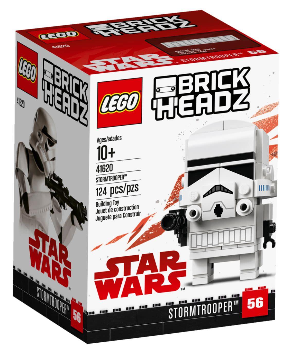 LEGO 41620 Stormtrooper BrickHeadz Box