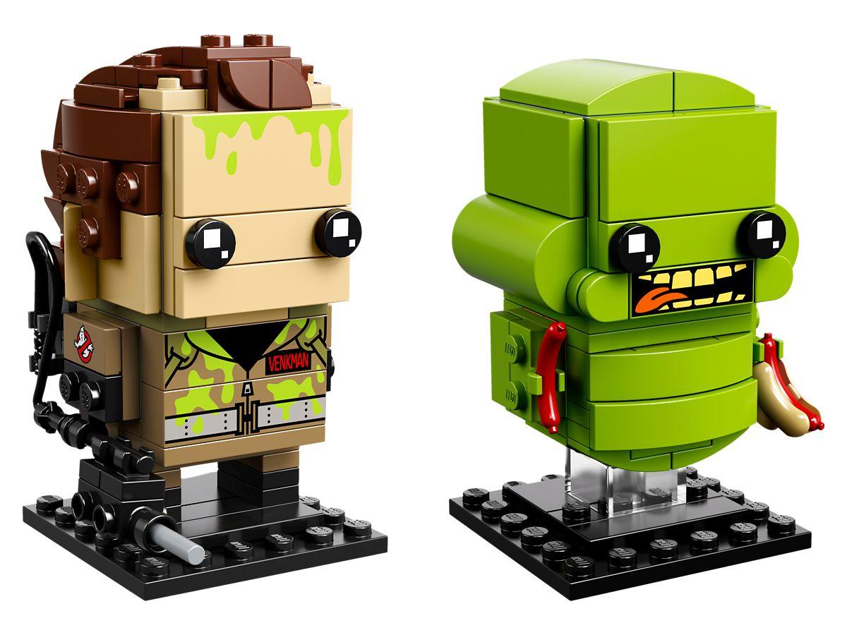 LEGO 41622 Ghostbusters BrickHeadz 62 & 63: Peter Venkman und Slimer