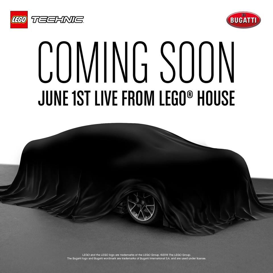 LEGO 42083 Bugatti Livestream