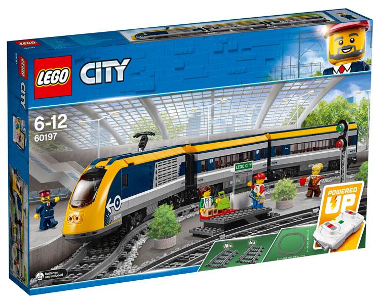 LEGO 6019 City Personenzug