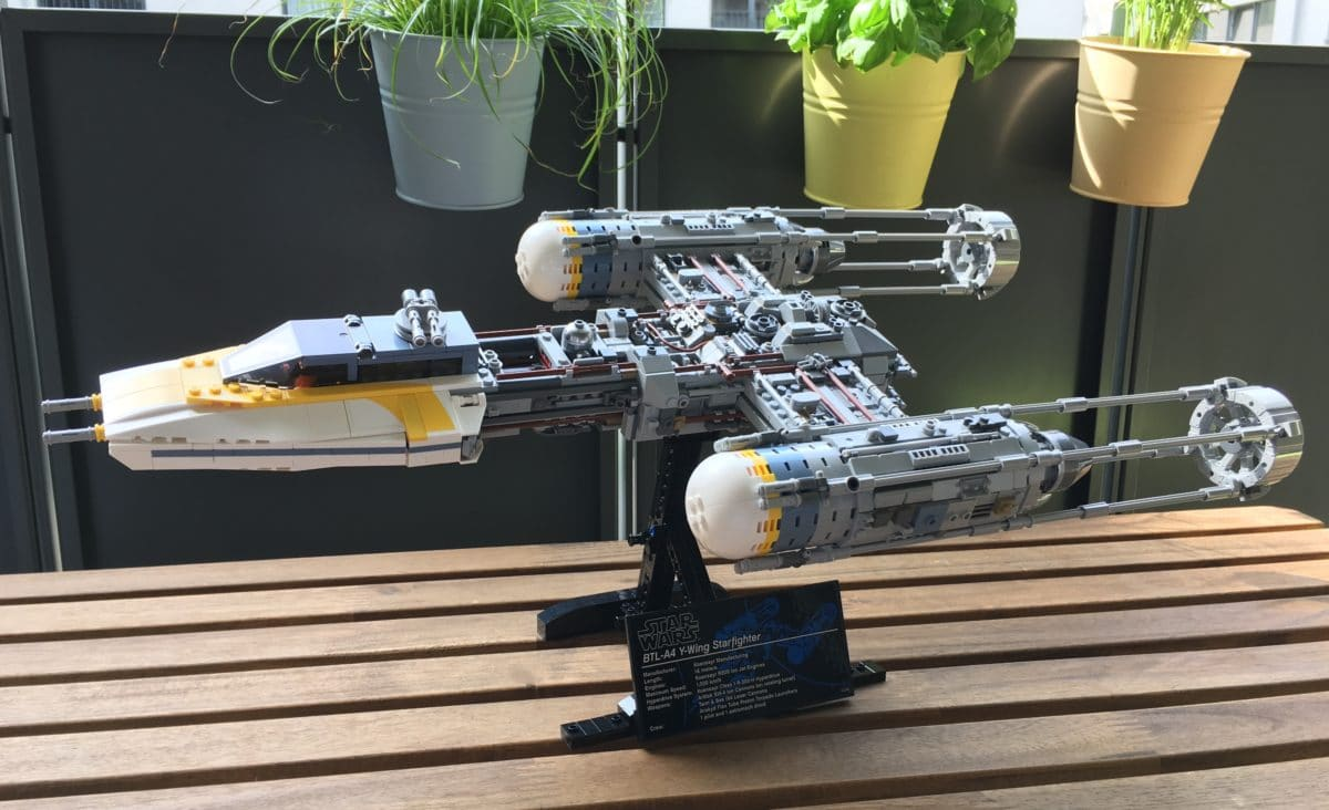 LEGO 75181 Y-Wing Star Fighter