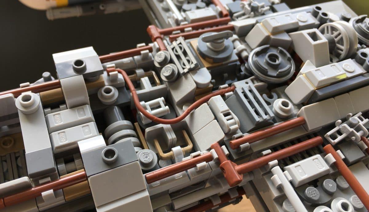LEGO 75181 Rumpf Details