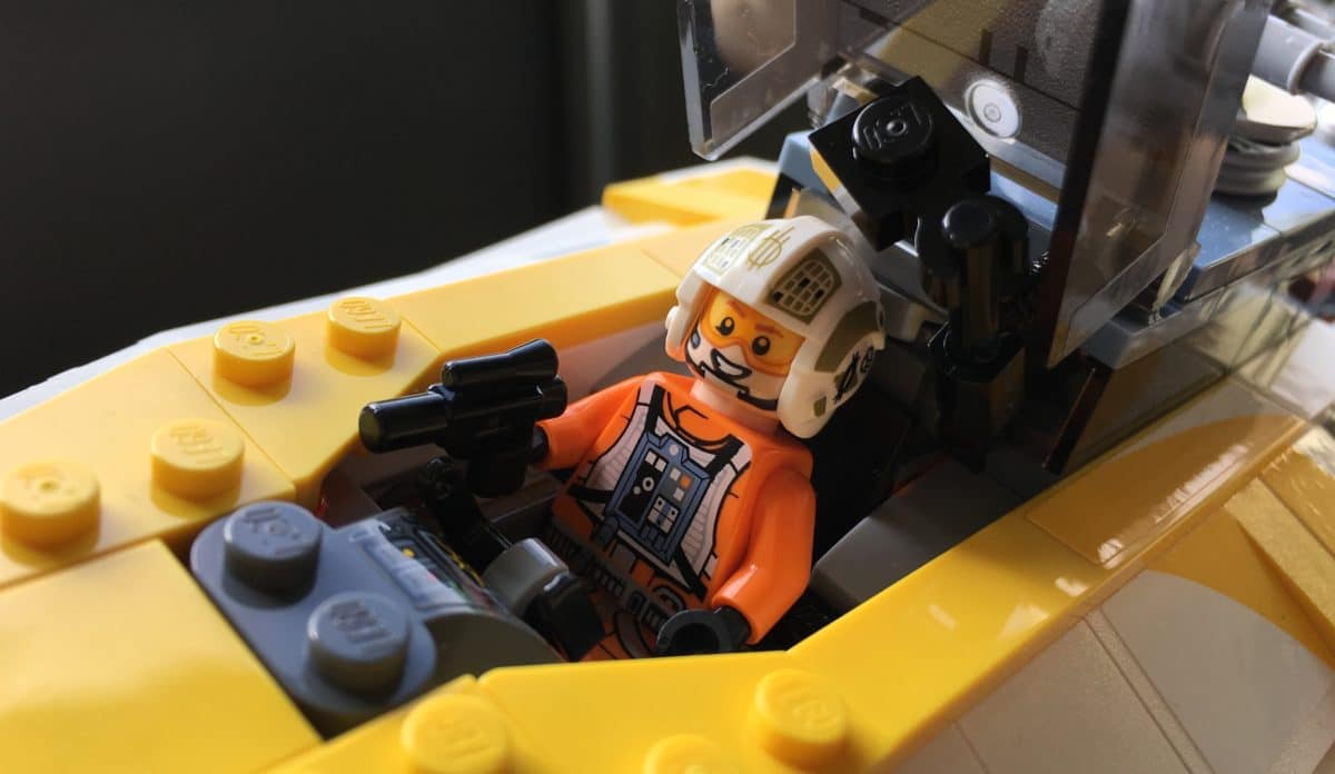 "LEGO 75181 Gold Leader John ""Dutch"" Vanders"