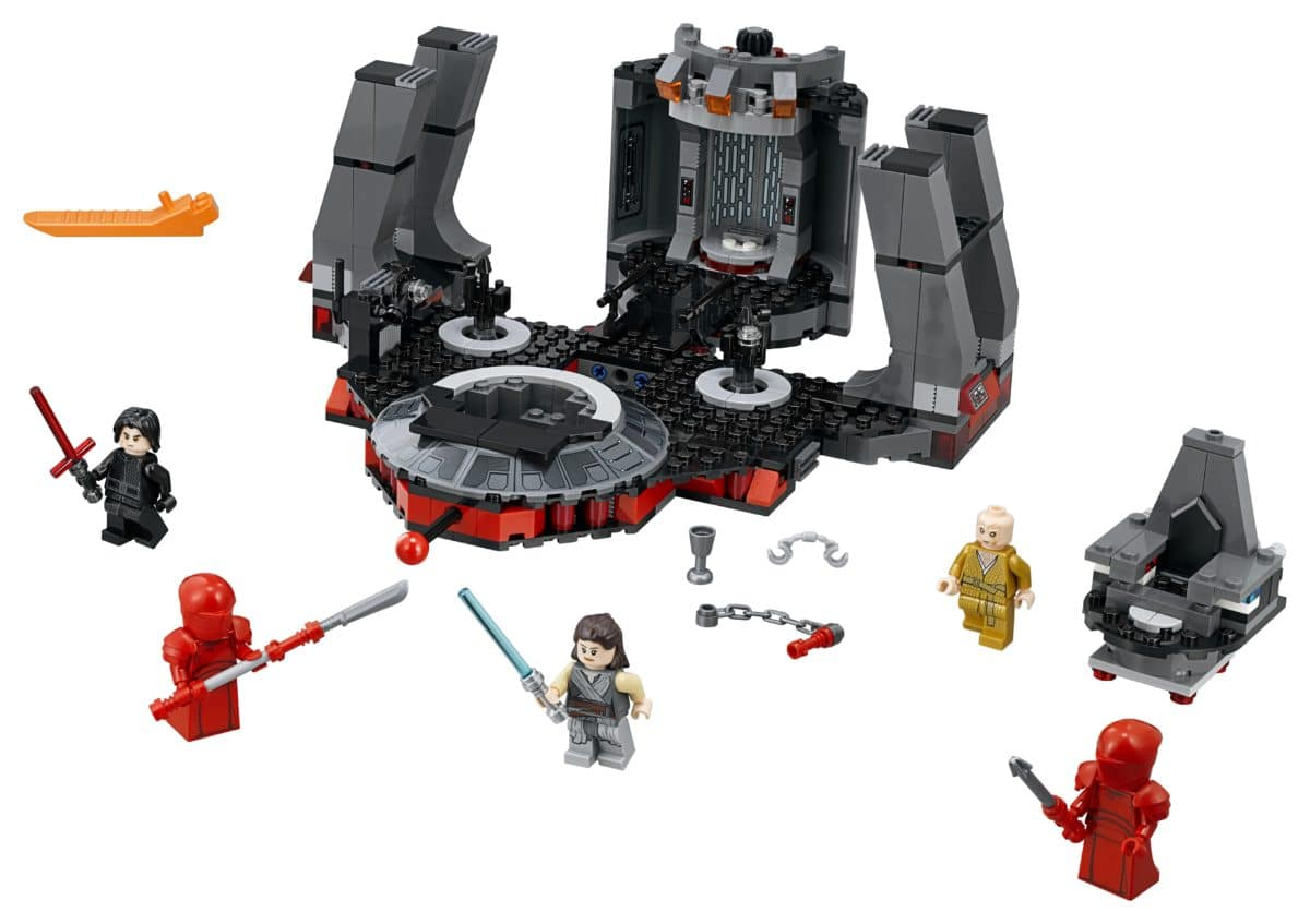 LEGO 75216 Snoke's Throne Room