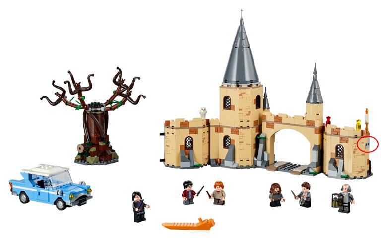 LEGO 75953 Verbindungselemente
