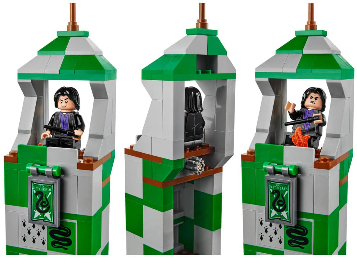 LEGO 75956 Quidditch match Snape Feuer Funktion