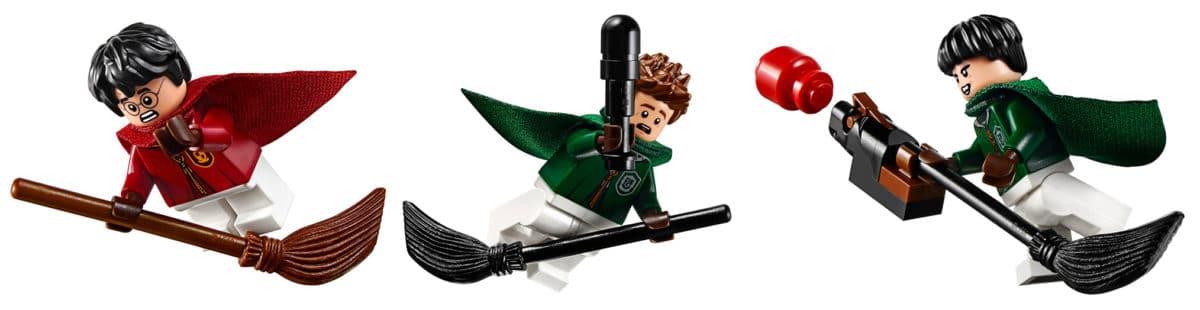 LEGO 75956 Quidditch Spieler Besen