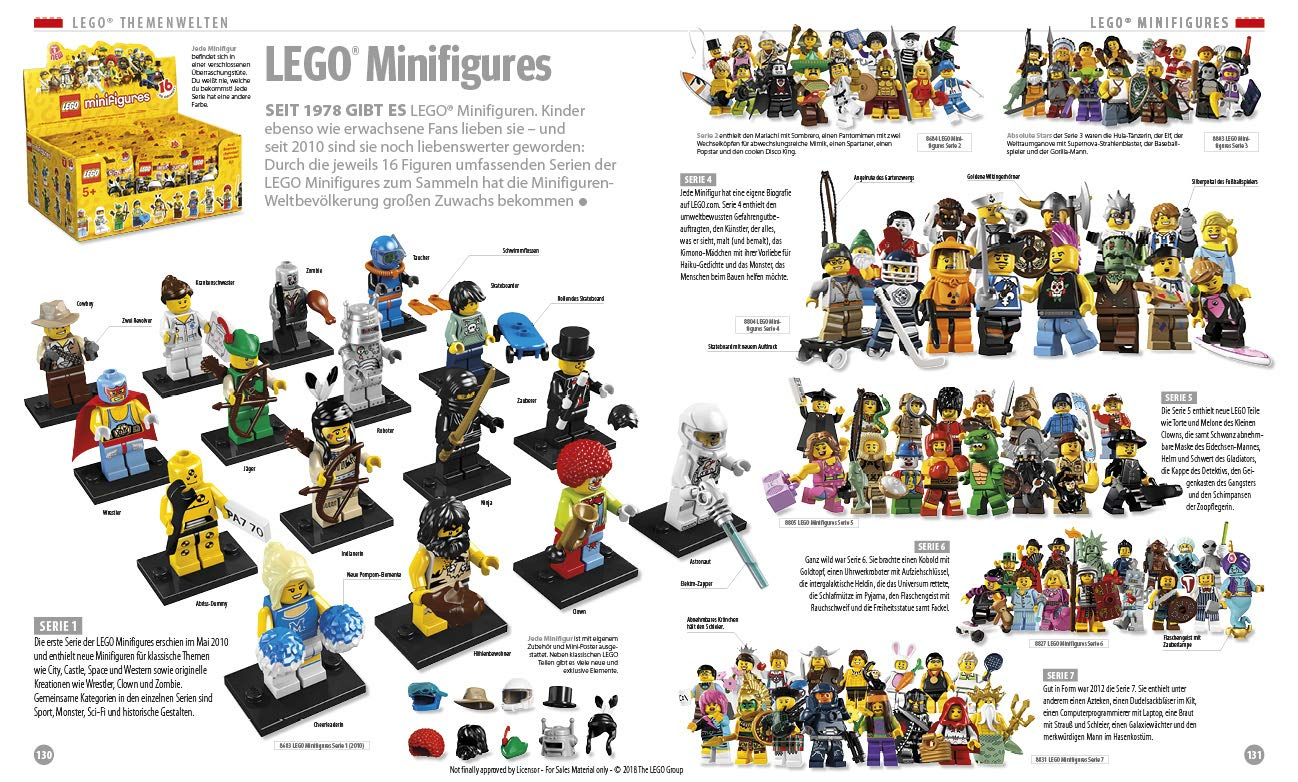LEGO Buch 60 Jahre Jubiläumsausgabe Inhalt