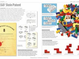 LEGO Buch Jubiläumsausgabe Ausschnitt