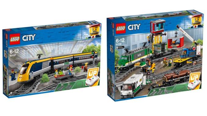LEGO City Züge Sommer 2018
