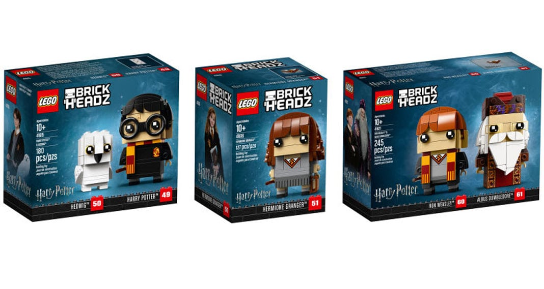 LEGO Harry Potter BrickHeadz Boxen