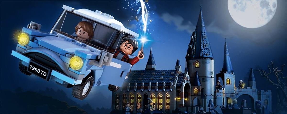 LEGO Harry Potter 2018: Fliegender Ford Anglia