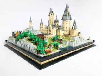 LEGO Microscale Hogwarts von Joshua-Wray