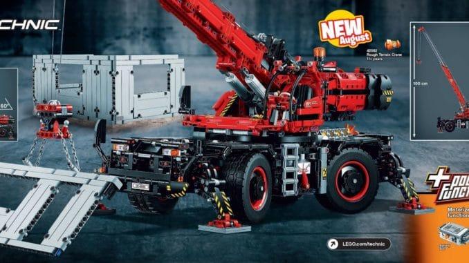 lego 42082 technic rough terrain crane erste bilder und. Black Bedroom Furniture Sets. Home Design Ideas