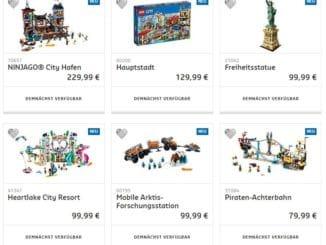 Neue LEGO Sets Sommer 2018
