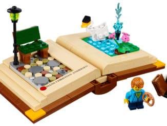 LEGO 40291 Kreative Persönlichkeiten Hans Christian Andersen