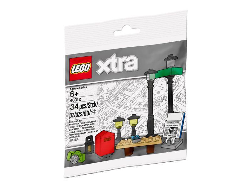 LEGO 40312 Straßenlaternen