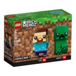 LEGO 41612 Minecraft BrickHeadz Steve & Creeper Box