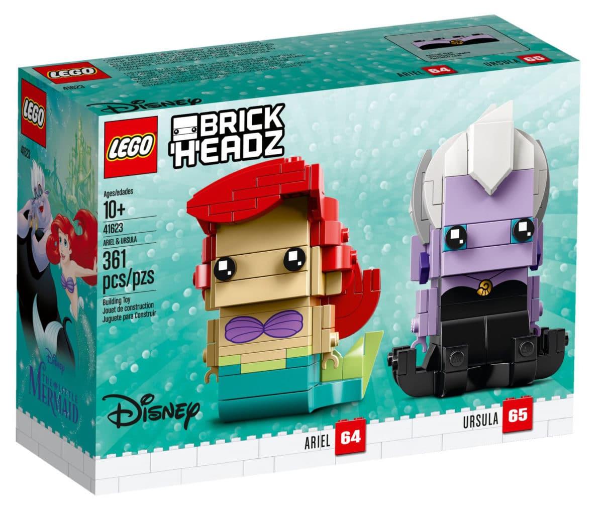 LEGO 41623 Ariel und Ursula BrickHeadz Box