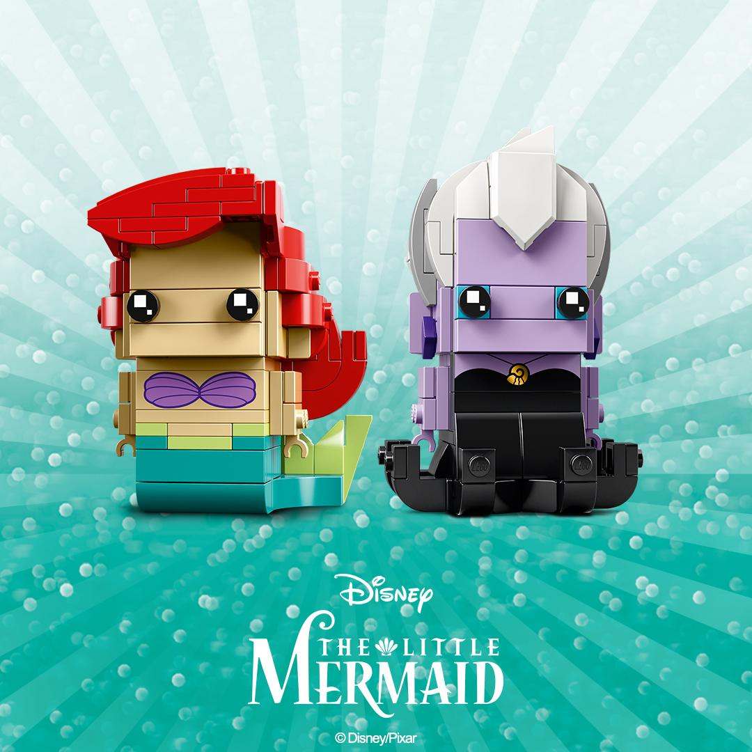 LEGO 41623 Ariel Ursula BrickHeadz