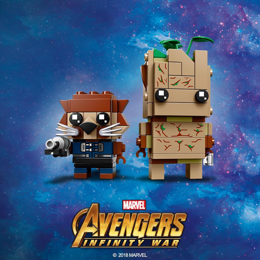 LEGO 41626 BrickHeadz Rocket Groot