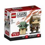 LEGO 41627 BrickHeadz Luke Skywalker & Yoda Box